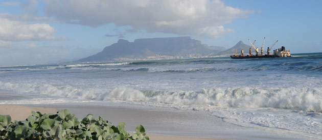 CT - Bloubergstrand, in the Western Cape, South Africa