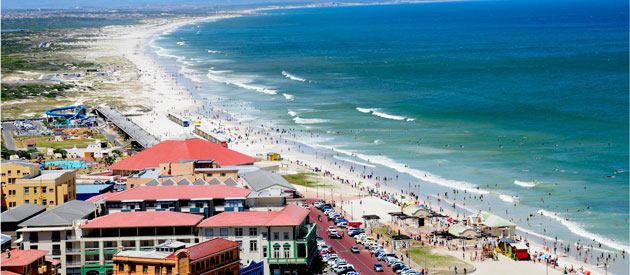 Cape Town - Muizenberg, in the Western Cape, South Africa