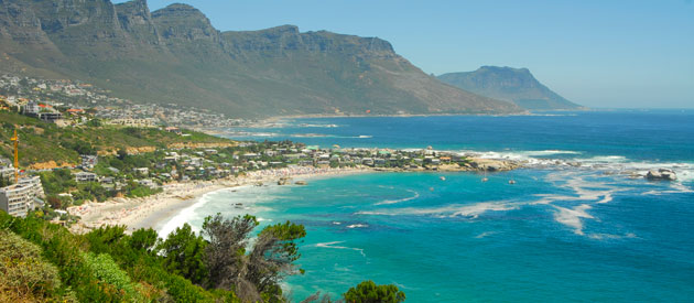 Cape Town - Bantry Bay, in the Western Cape, South Africa